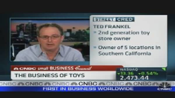 Toys Retailer Talks Business