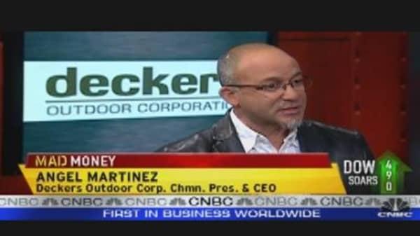 Cramer: Deckers a Bargain Stock