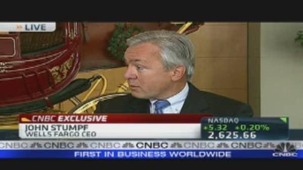 Wells Fargo CEO Stumpf on Mass. Suit