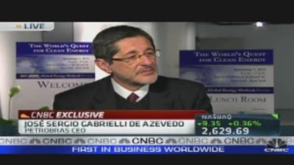 Petrobras CEO on Brazilian Oil Boom