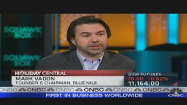 Blue Nile CEO on Holiday Sales