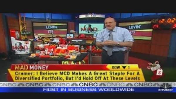 Stocking Stuffer Stock: McDonald's
