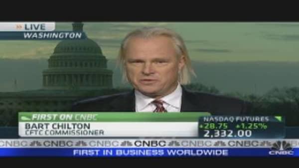 CFTC's Chilton on MF Global Fallout