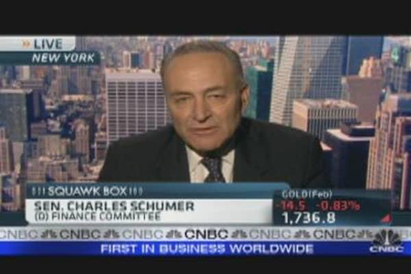 Schumer on Fueling Housing Demand