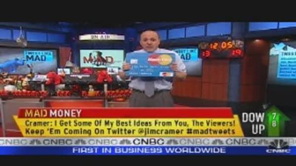 Tweet Like Mad: Credit Card Showdown