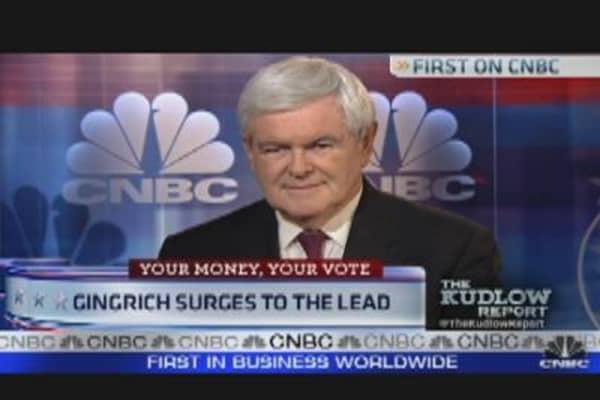 Newt Gingrich: Obama 'Food-Stamp President'