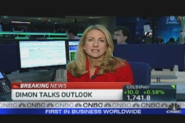 Dimon Talks Outlook