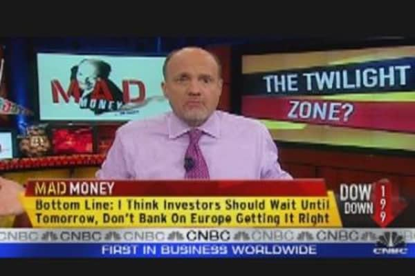 Cramer: Europe Needs to Sell Bonds