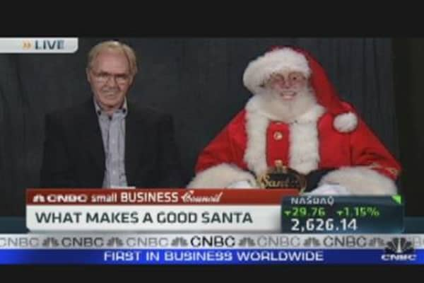 Small Biz: Santa For Hire