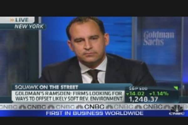 Goldman Sachs Analyst on Banks