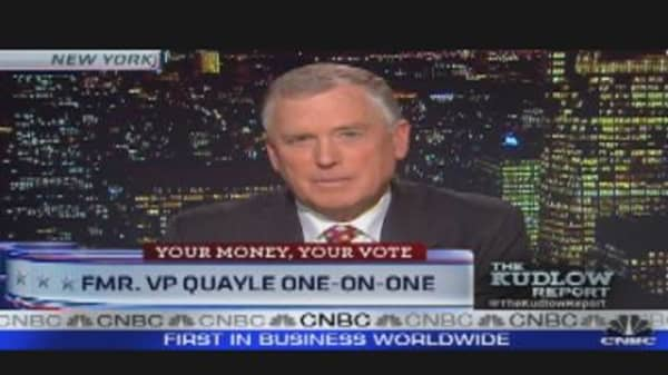 Quayle Rates the Republican Candidates