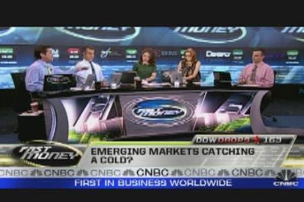 Emerging Markets Slump & Commodities Plunge
