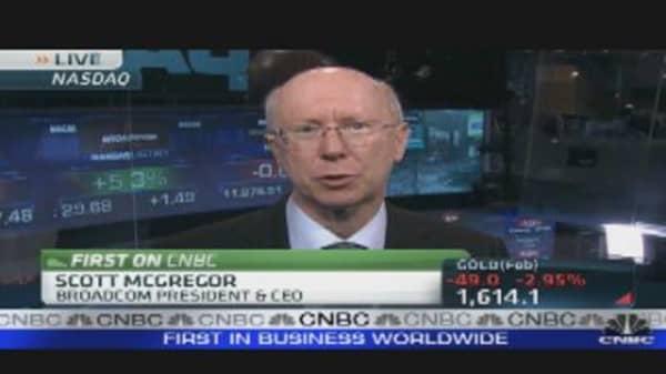 Broadcom CEO's Company Outlook