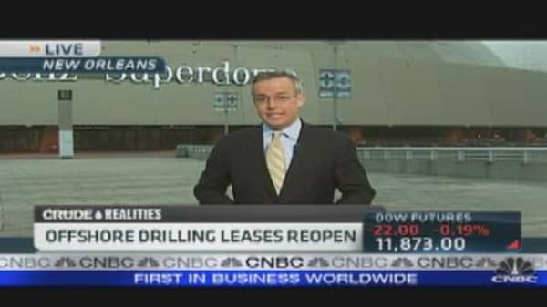 Drill, Drill Drill: Feds Lease Offshore Oil Fields