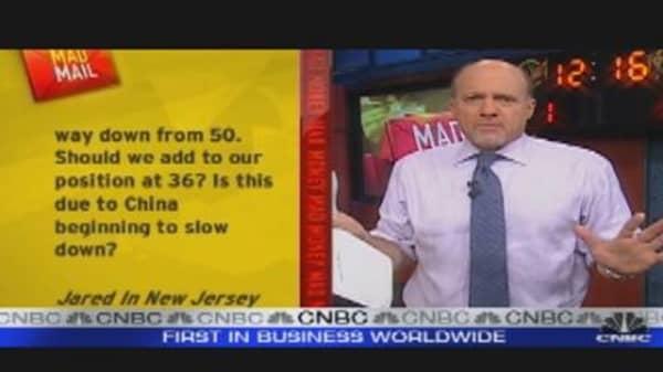 Cramer Maps Future of Gold