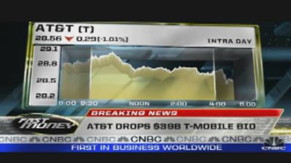 AT&T Drops $39B Bid for T-Mobile