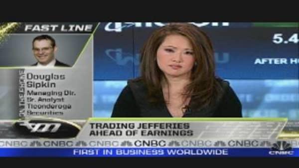Financial Hit: BofA Under $5