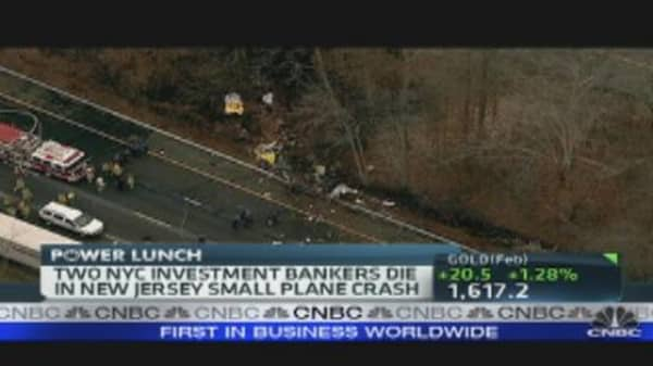 5 Dead as Small Plane Crashes in New Jersey