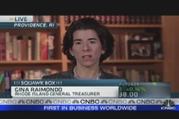 Rhode Island Tackles Pension Reform