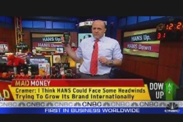 Cramer: Take Your Profits on HANS