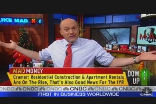Cramer Goes Shopping for REITS