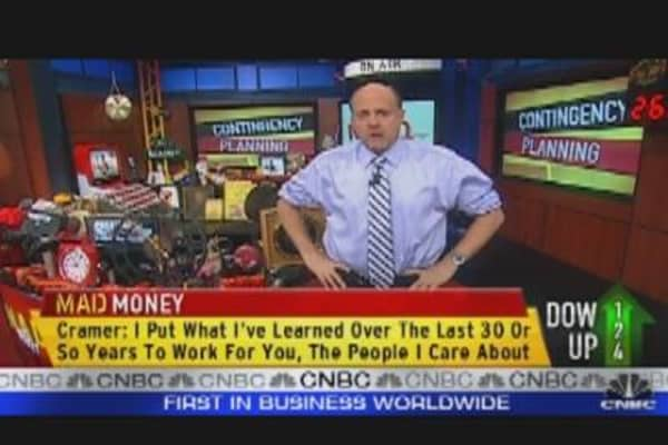 Cramer: Questions to Ask Yourself in a Sell-Off