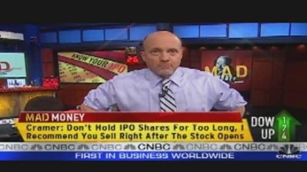 Cramer's IPO 'Sliver Deal' & the After Market