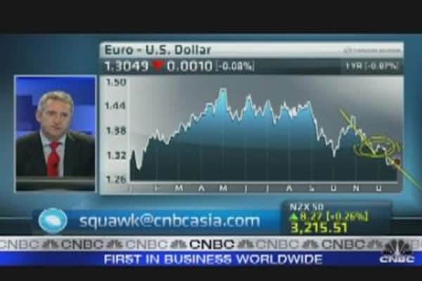 Euro at 1.25 Level in First Half of 2012