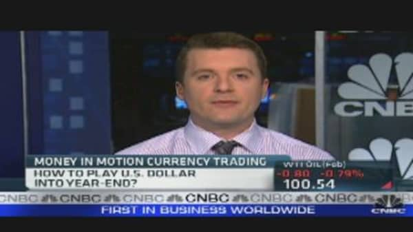 Trading Currencies in the Year-End