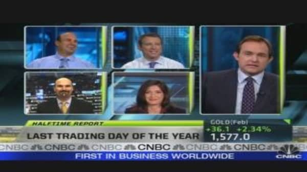 Final Trading Day of 2011