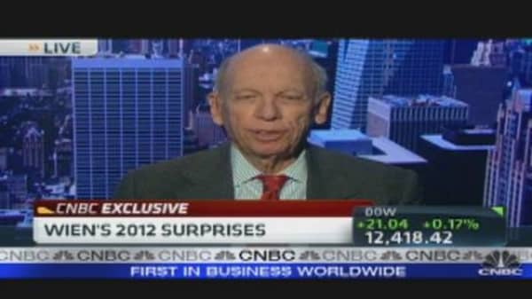 Byron Wien's 2012 Surprises: Can Obama Win?