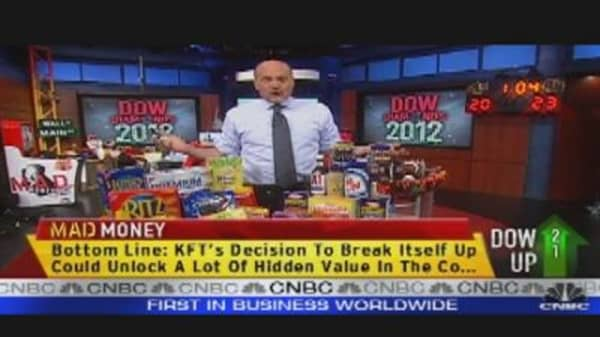 Cramer's 'Diamond' of the Dow: Kraft