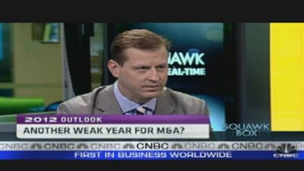 Another Weak Year for M&A?
