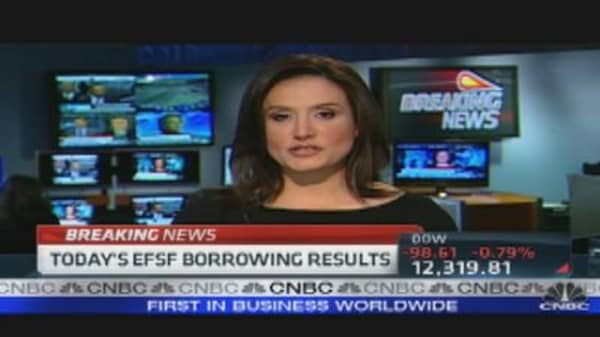 EFSF Borrowing Results