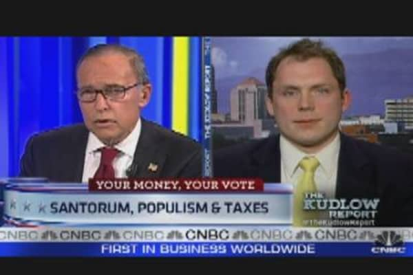 Kudlow Defends His Support of Blue Collar Workers