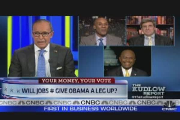 Will Jobs Numbers Give Obama A Leg Up?