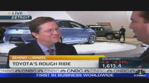 Toyota President Shares 2012 Outlook
