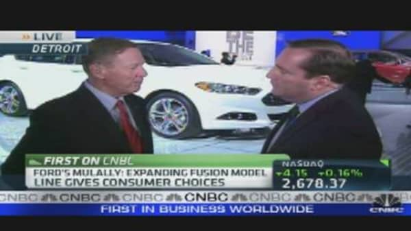 Ford Motor CEO Alan Mulally's Outlook