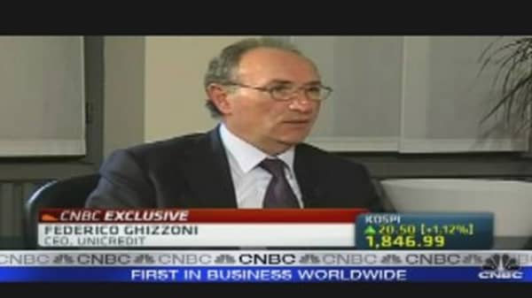 Unicredit Will Be Top Bank in Europe: CEO