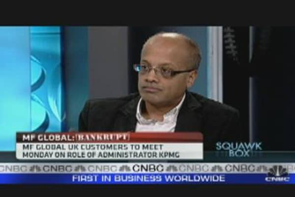 MF Global Clients Angered by Frozen Assets