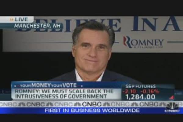 Mitt Romney: Long Road Ahead for Campaign