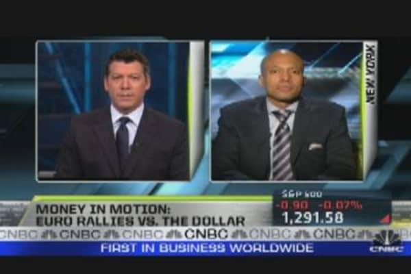 Euro Rises Against Dollar
