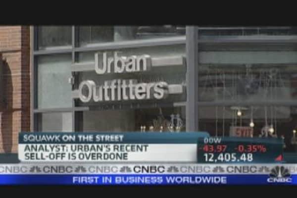 Buy Urban on the Dip?