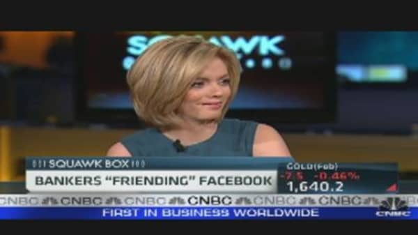 Bankers Pitch For Facebook IPO