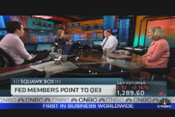 Fed Members Point to QE3