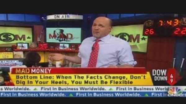 Cramer: Change Is Inevitable