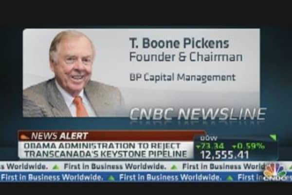 Keystone Decision a Gift to OPEC: Boone Pickens