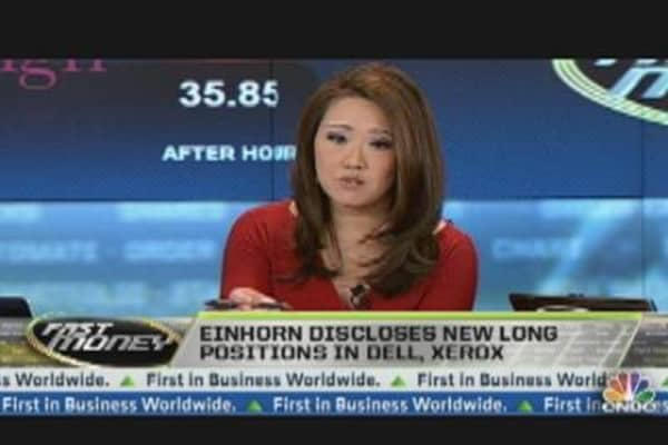 Follow David Einhorn into Stocks?