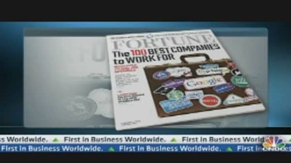 100 Best Companies to Work For: Fortune Magazine