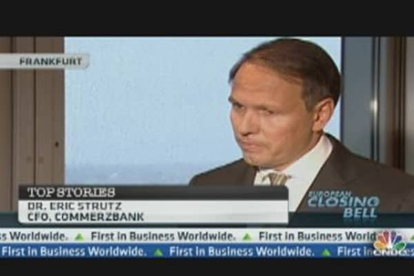 Commerzbank 'Ahead of the Herd': CFO